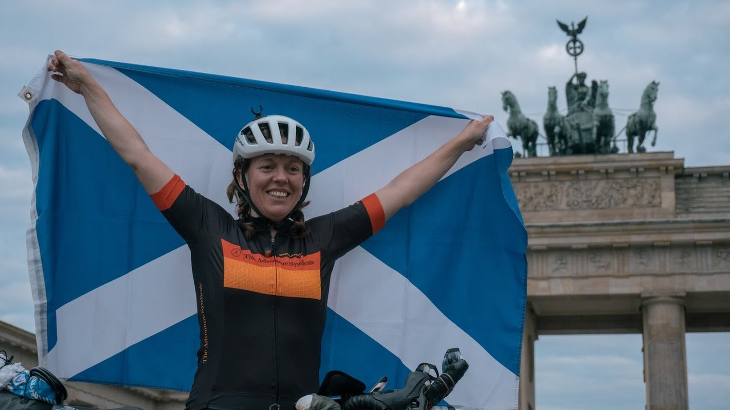 Round the world cyclist Jenny Graham reaches Mongolia