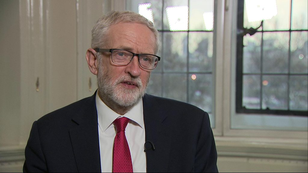 Corbyn: May meeting 'useful but inconclusive'
