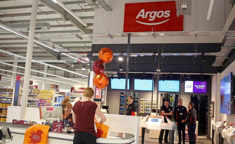 Argos outlet in Sainsbury's store