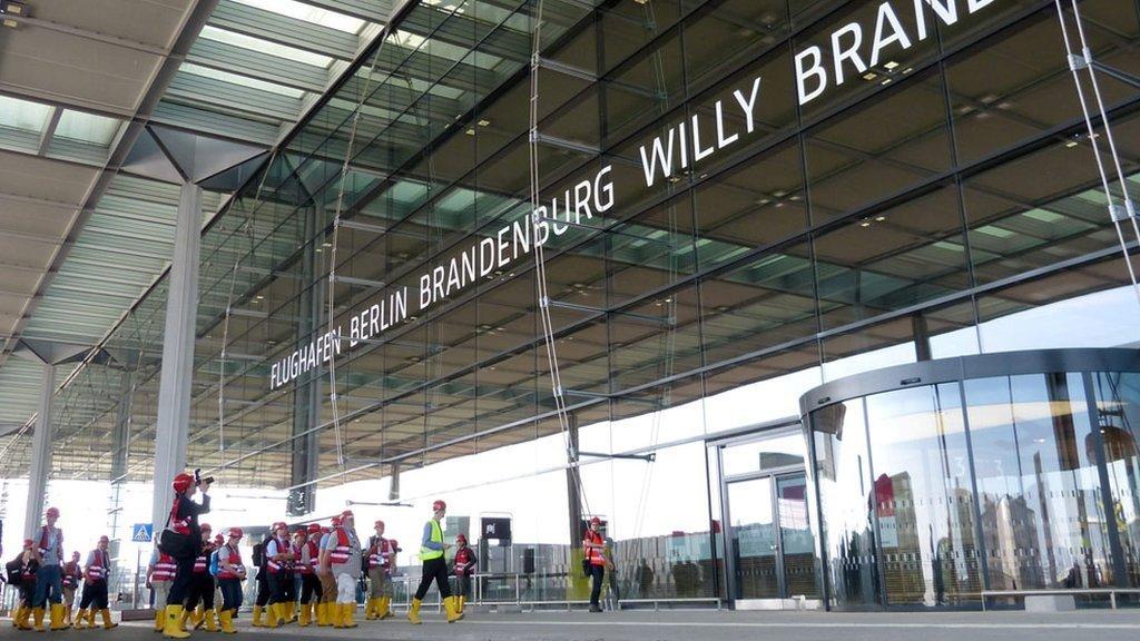 Berlin Brandenburg Airport, Terminal, 2012