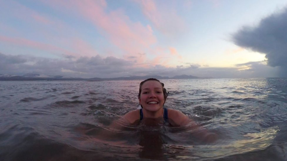 beth in the sea