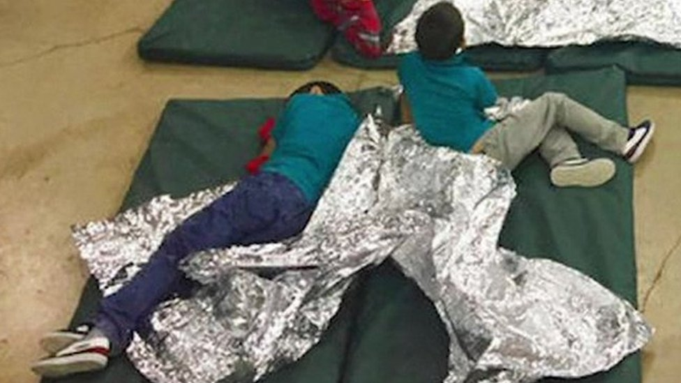 US child migrants: First ladies speak out on Trump separation policy