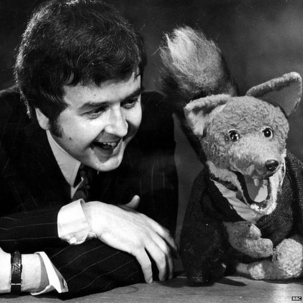 Rodney Bewes & Basil Brush