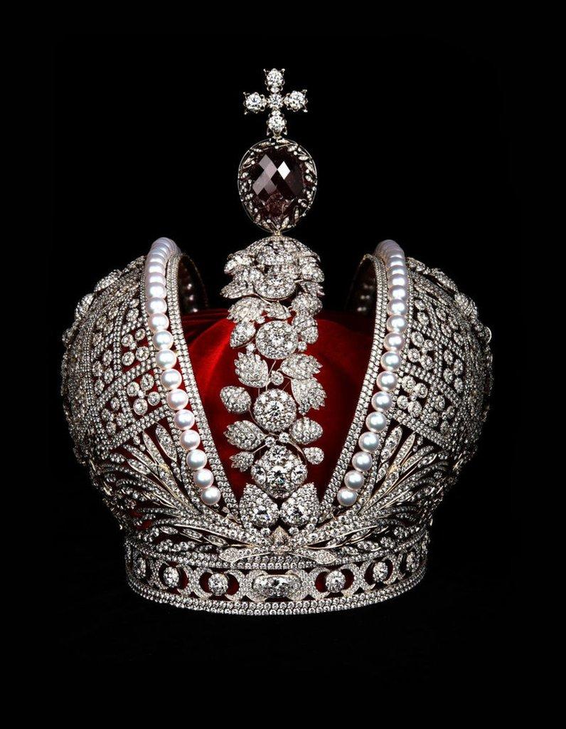 La Corona Imperial de Rusia.