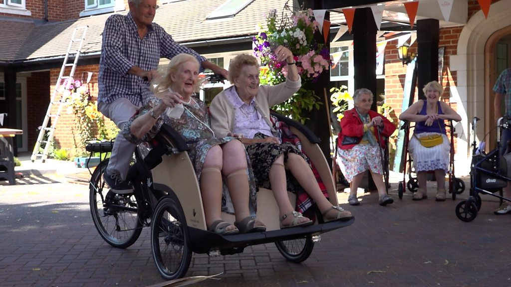 Cycling Without Age scheme comes to Bournemouth