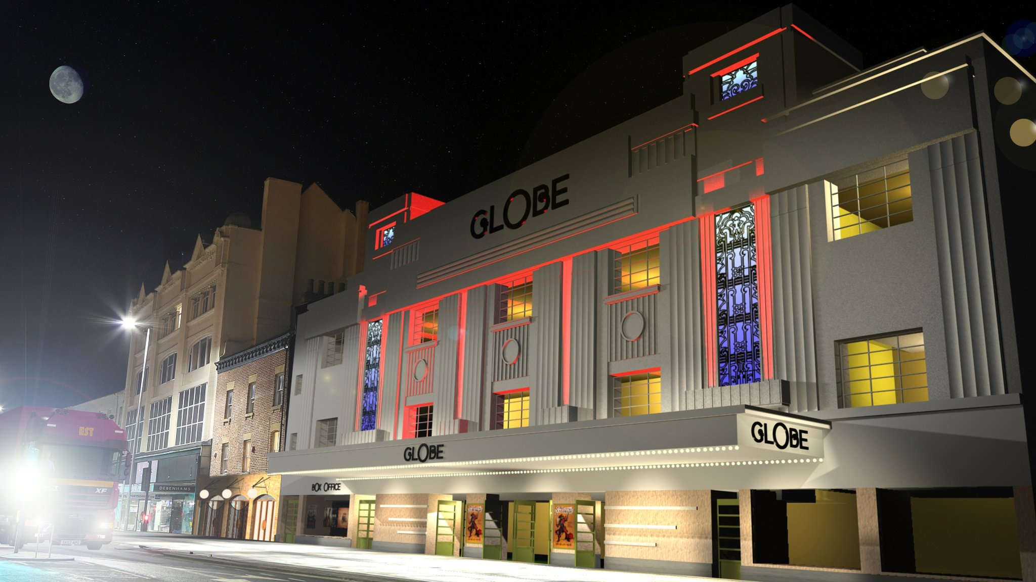 Structural woes delay Stockton Globe Theatre revamp
