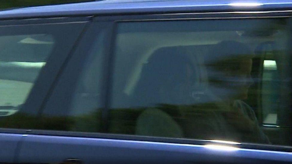 الأمير هاري وميغان ماركل في بروفة العرس