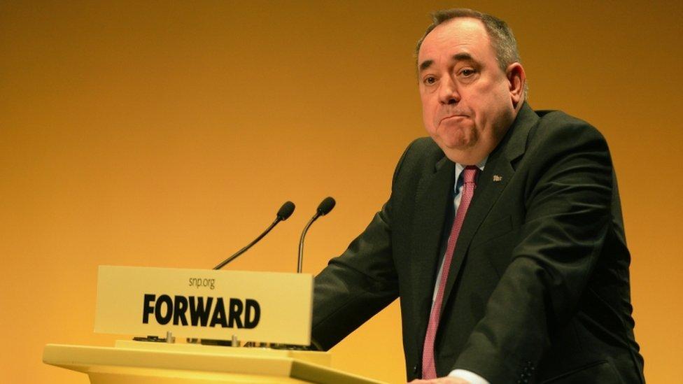 Alex Salmond in 2013