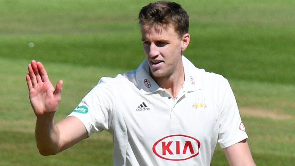 County Championship: Surrey replace Somerset at the top of the table after comfortable win
