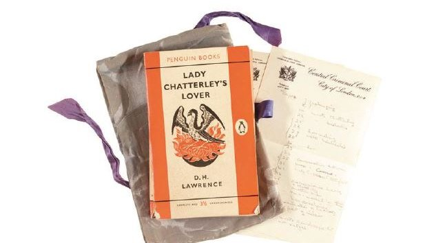 Judge's copy of Lady Chatterley's Lover to be auctioned