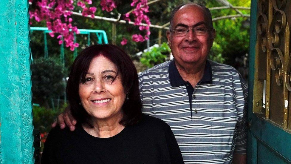 Samira Dajani and Adel Budeiri