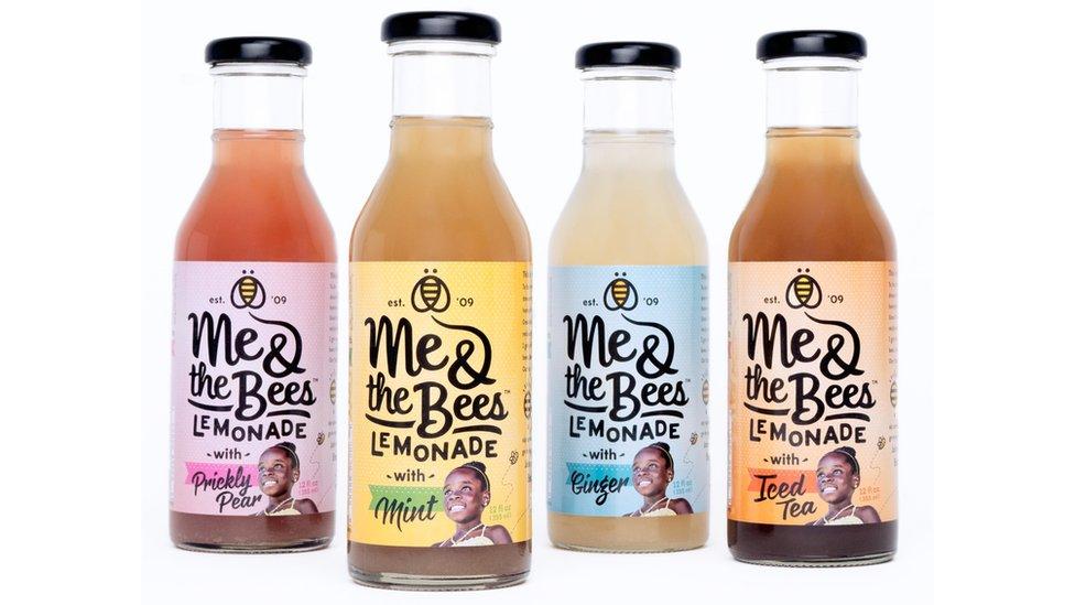 Las limonadas vienen en cuatro sabores y todas contienen miel.