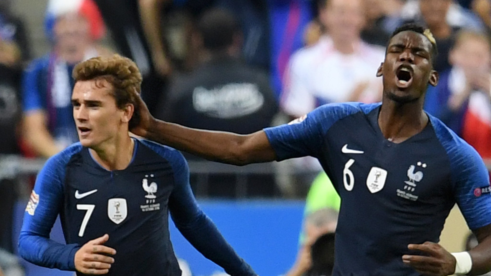 Griezmann double gives France win as Germany beaten again