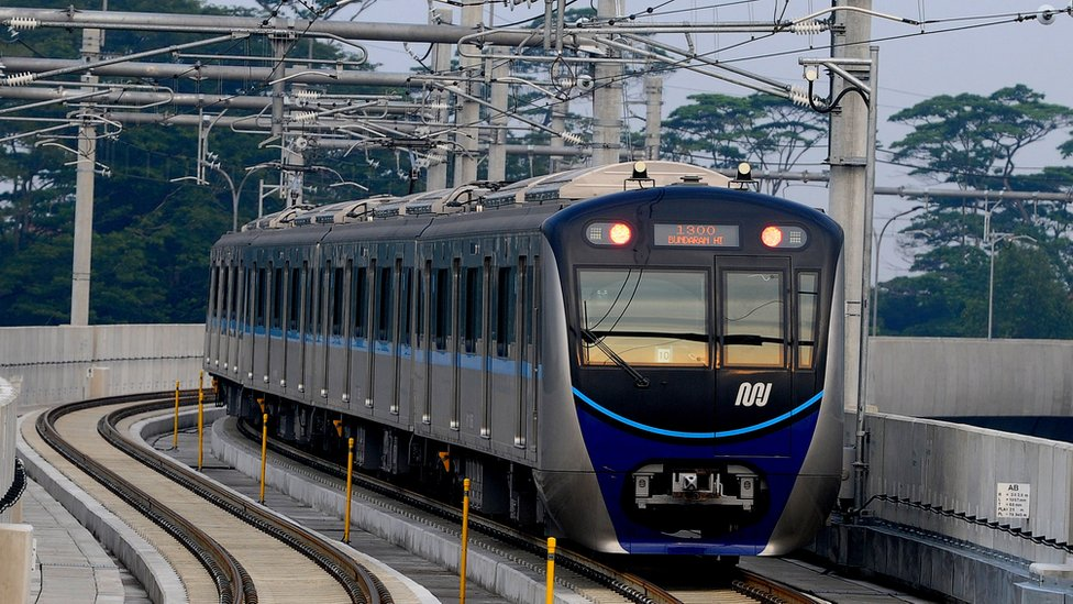 Jakarta MRT train