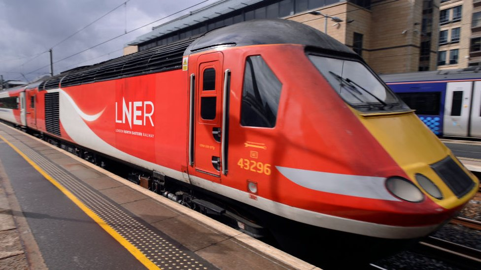 Rail fault causes severe travel disruption on LNER trains