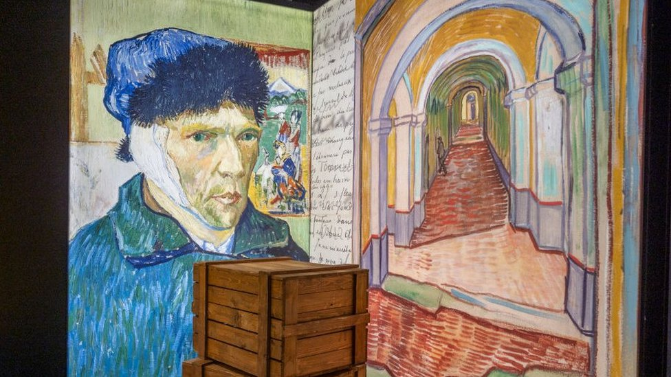 Lisbon'daki Van Gogh sergisinden