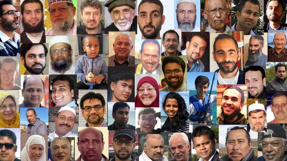 Collage de las víctimas.
