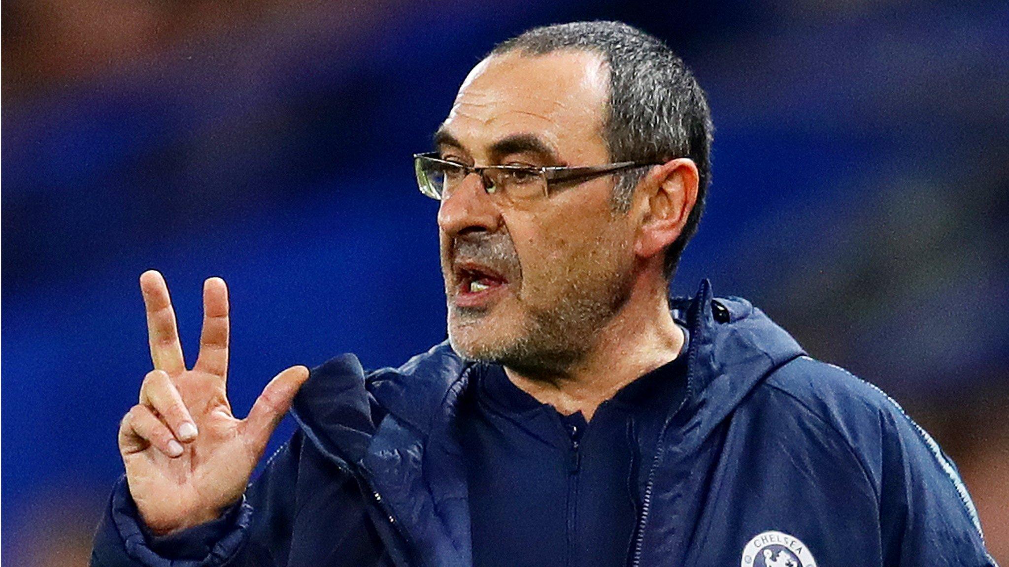 Sarri demands improvement after Chelsea reach semi-finals
