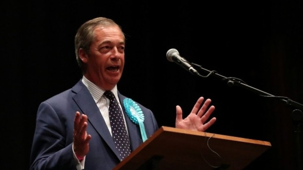 European Elections 2019: Nigel Farage 'There's massive message here'
