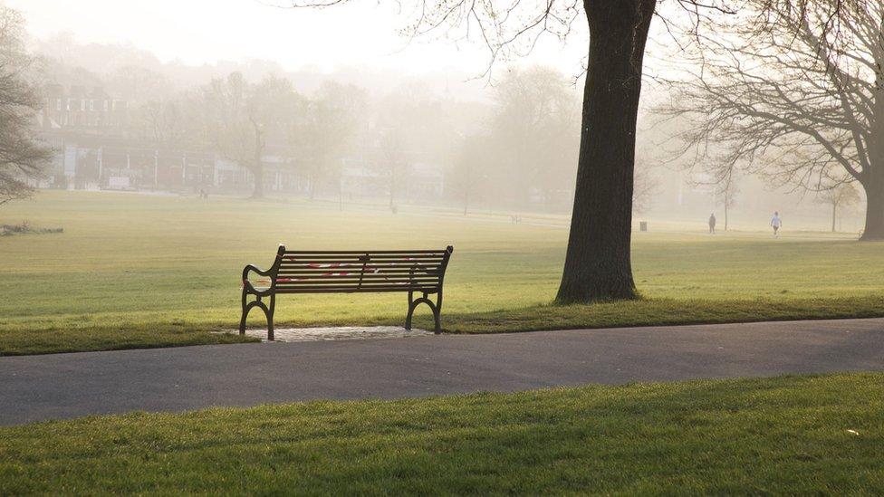 Parque vazio