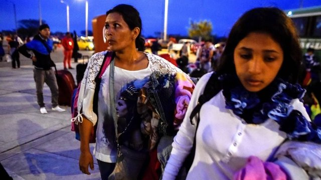 Venezolanos en Perú.