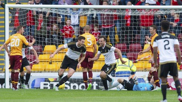 Highlights - Motherwell 1-2 Aberdeen