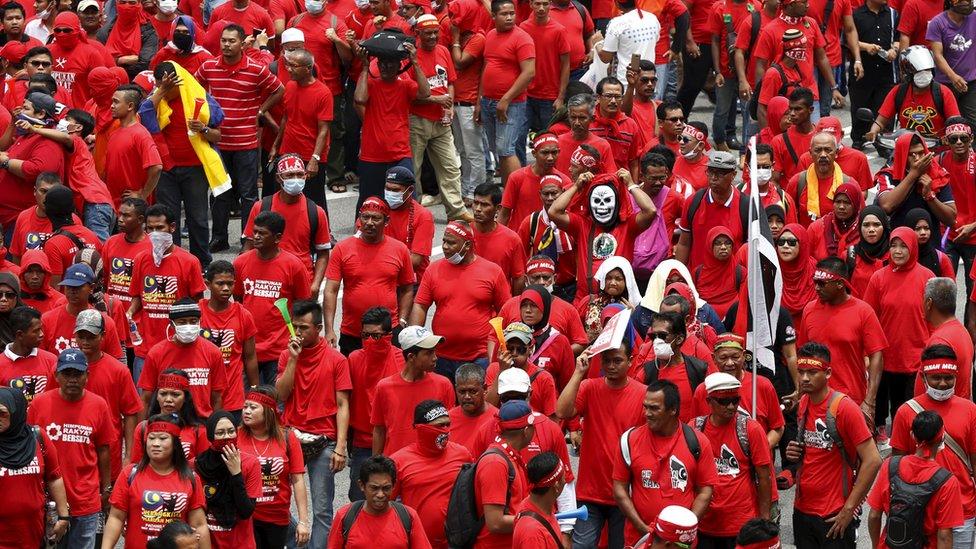 Rally in Kuala Lumpur, Malaysia (16 Sept 2015)