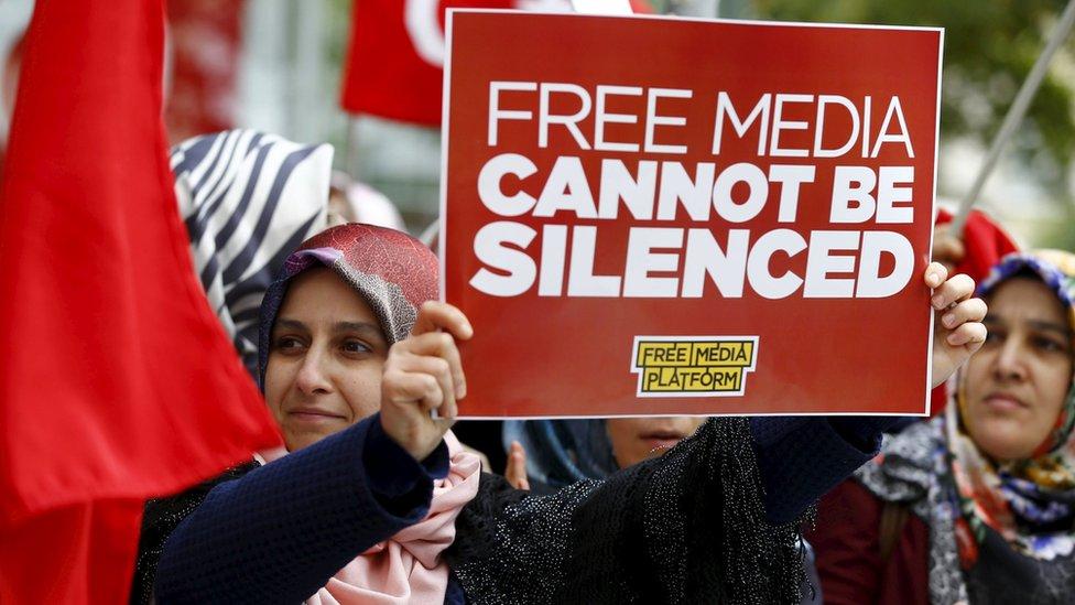EU criticises Turkey over human rights and democracy - BBC News