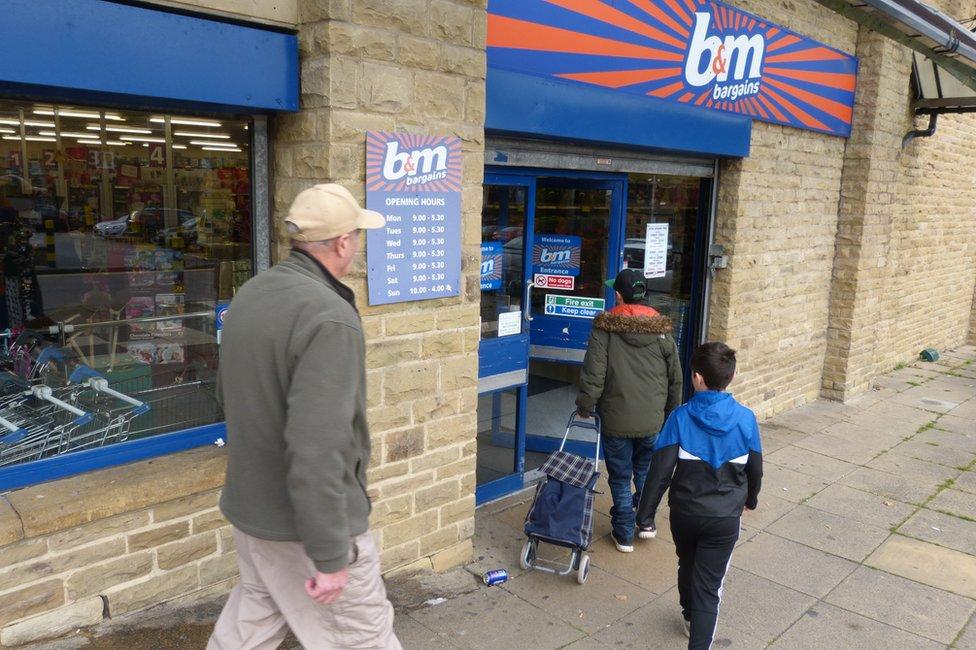 B&M store in Halifax