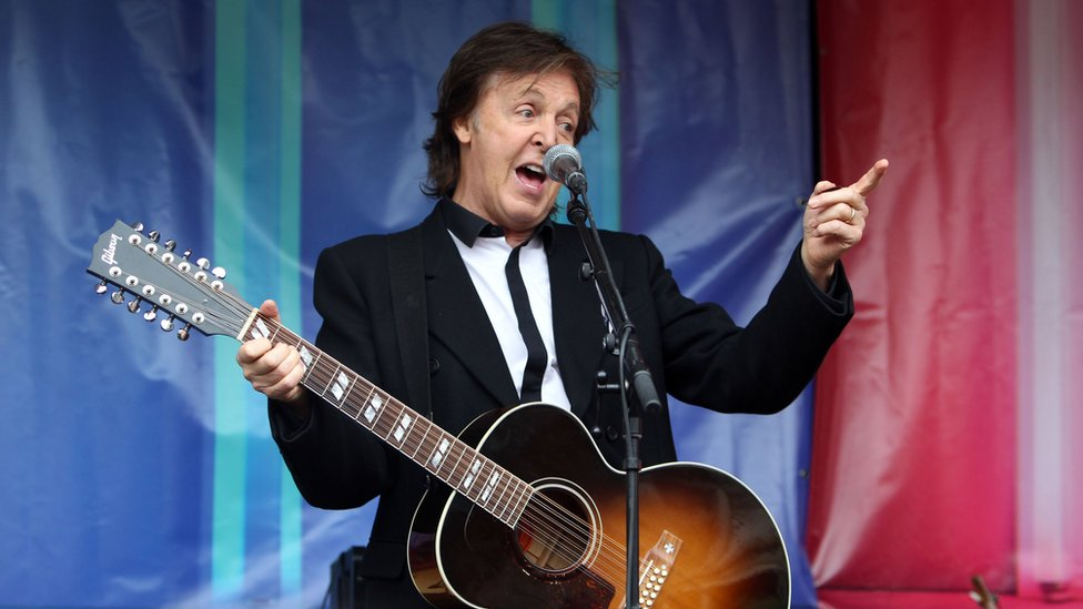 Sir Paul McCartney: 'Retire from what?'