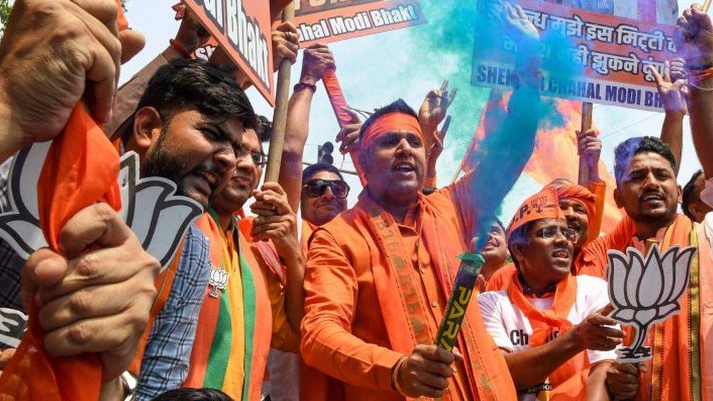 India election results 2019: Narendra Modi takes commanding lead