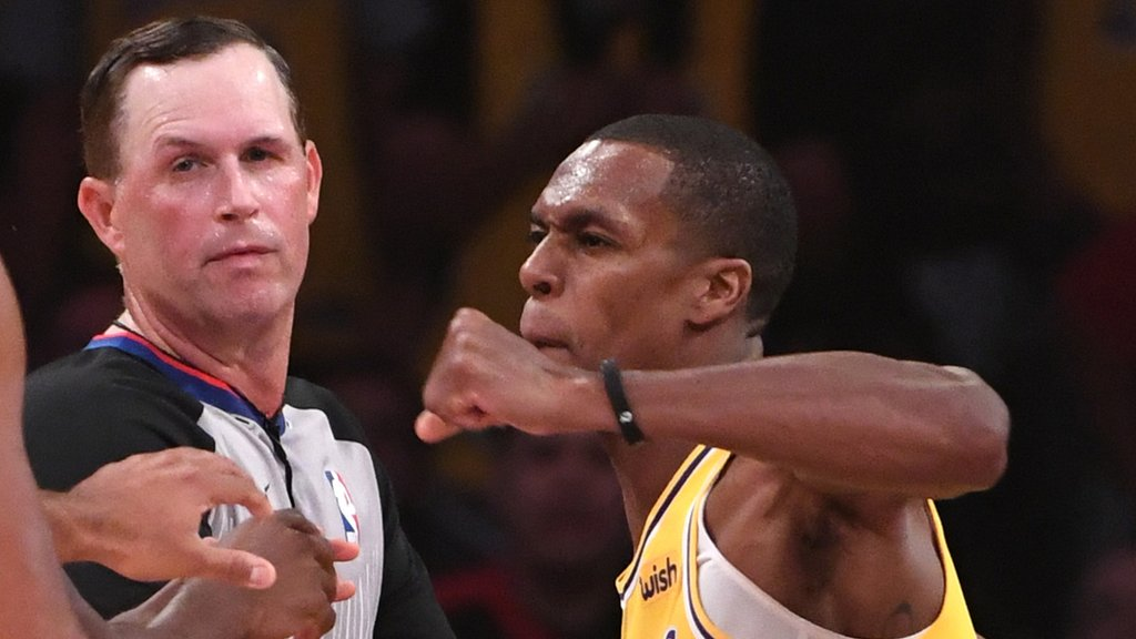 NBA: Brandon Ingram, Rajon Rondo & Chris Paul banned after punch-up