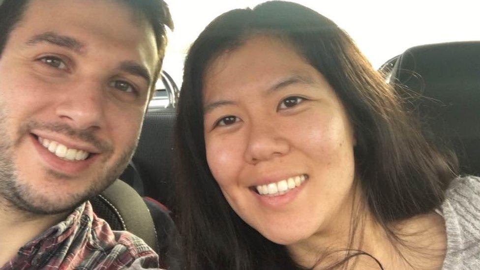 Jonathan Smith and Tiffany Wong