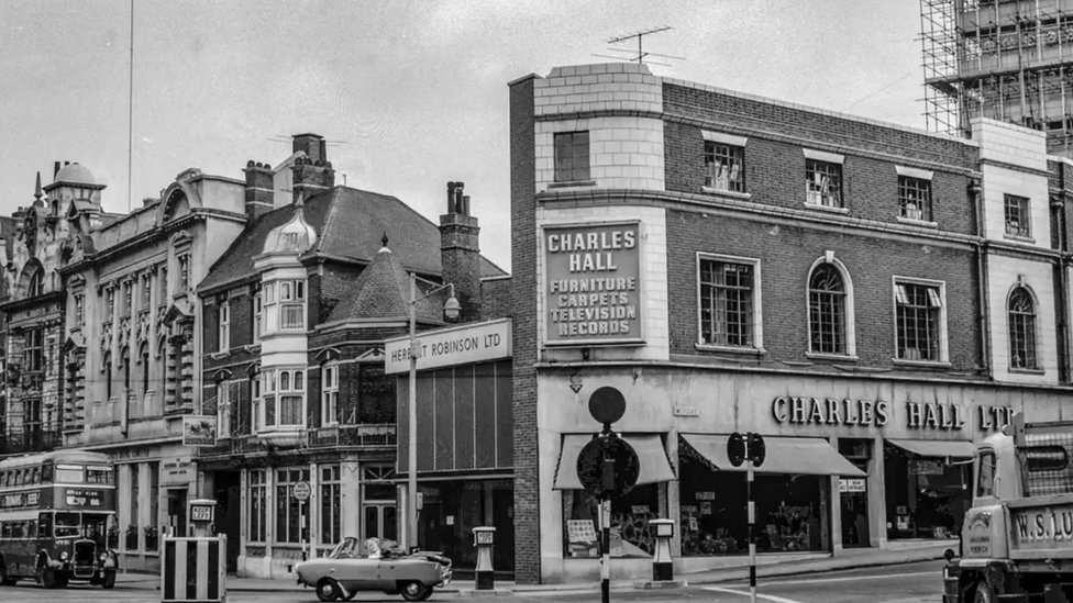 Westlegate's junction with Red Lion Street in Norwich