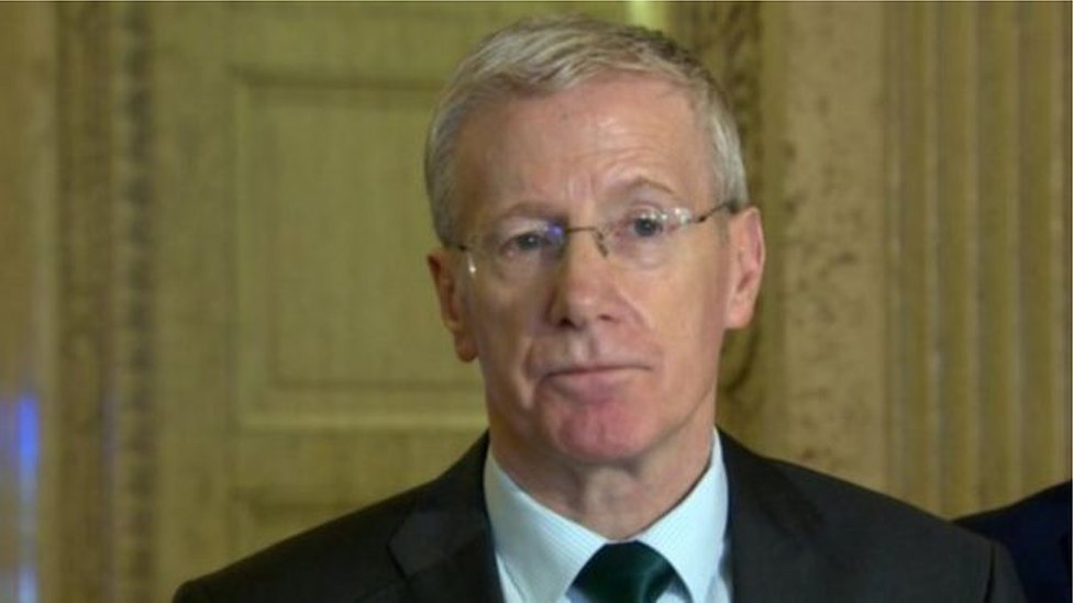 "Gregory Campbell has urged the former prime ministers to ""dial down the rhetoric"""