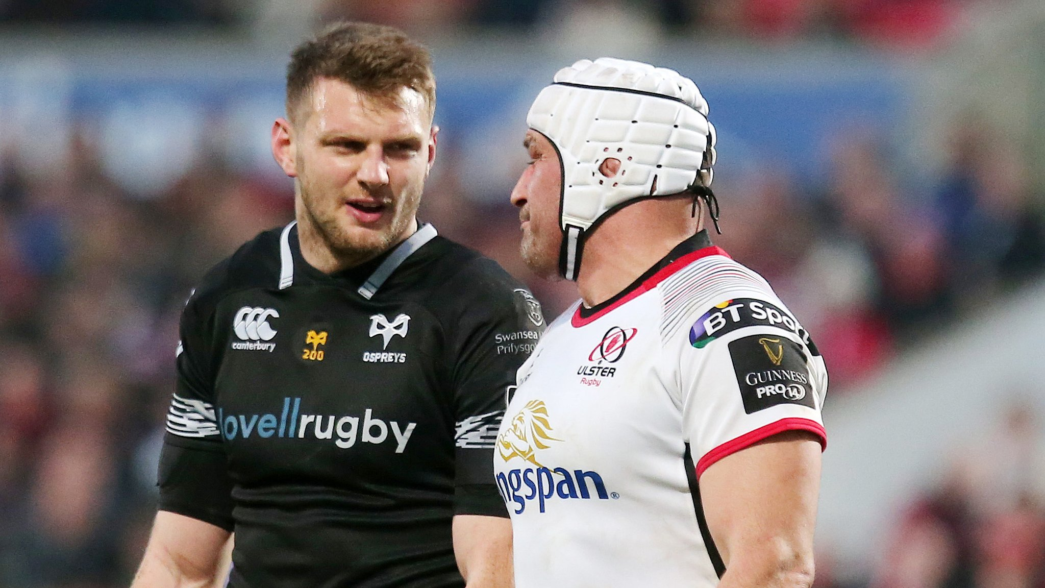 Ulster lose Best for Champions Cup play-off with Ospreys