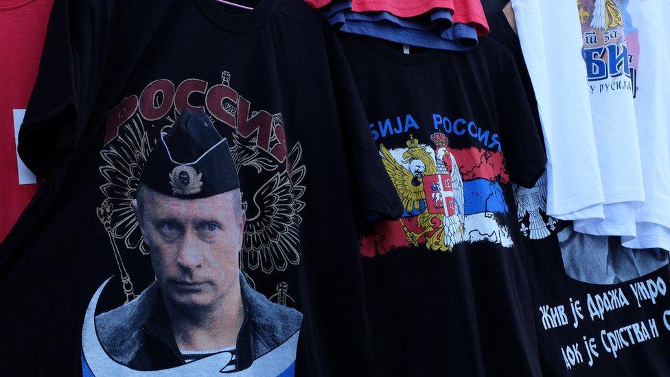 Putin na futbolke