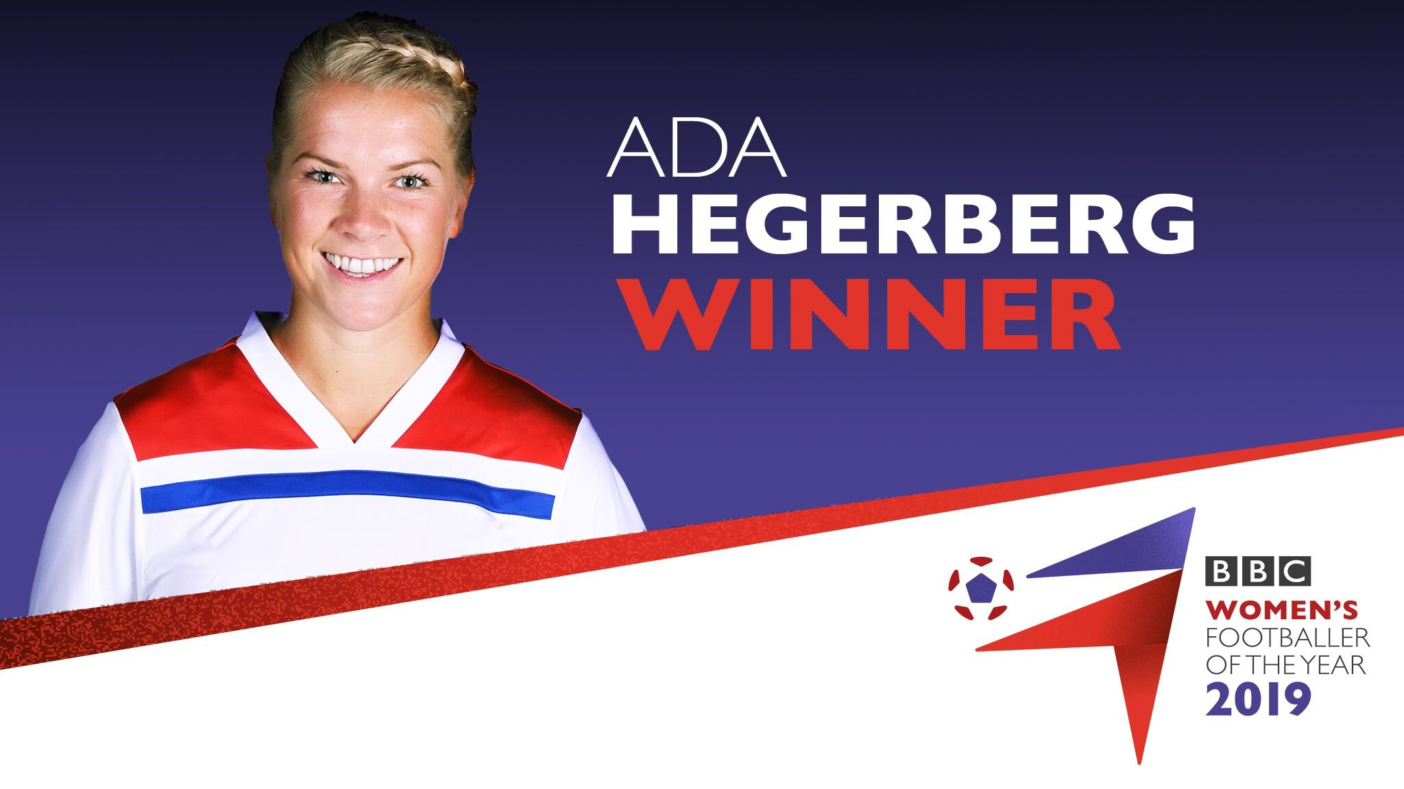 Hegerberg wins BBC Women's Footballer of the Year award