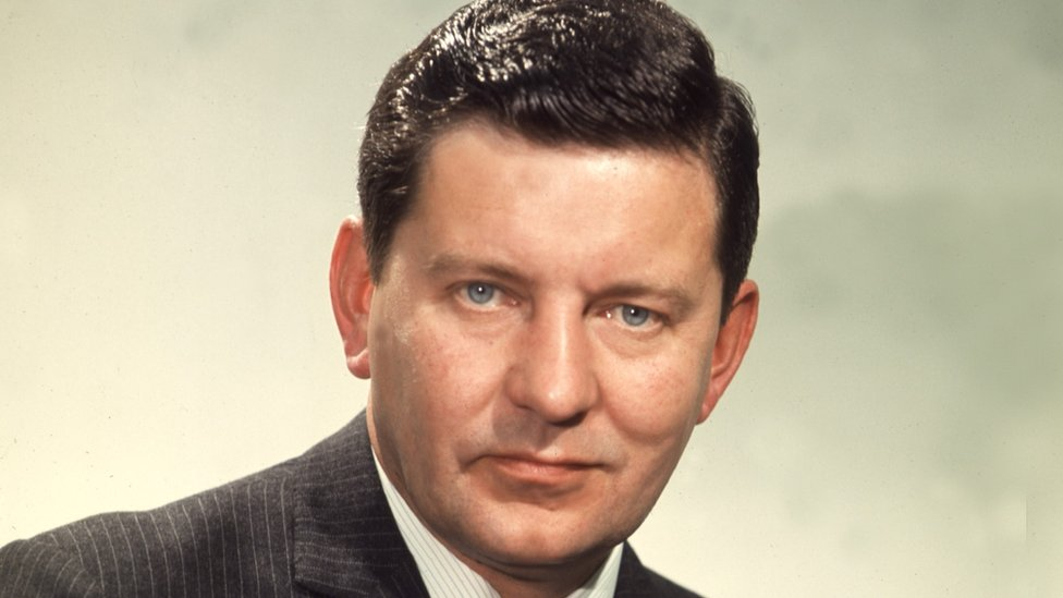 Former BBC newsreader Richard Baker dies aged 93