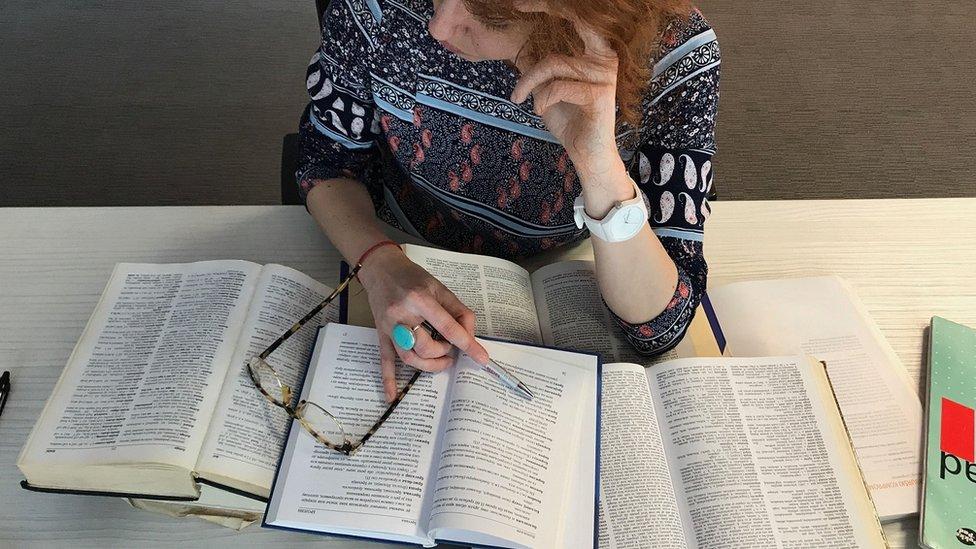 učenje doktorantkinje