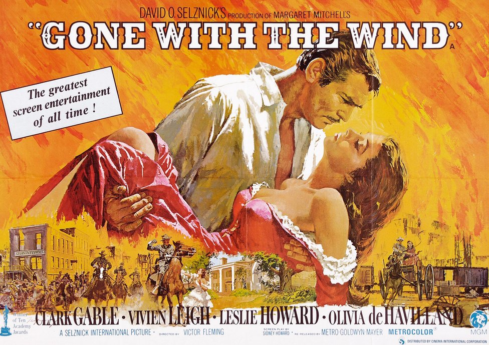 Gone with the Wind promotional poster