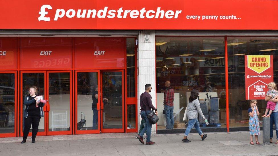 Poundstretcher storefront