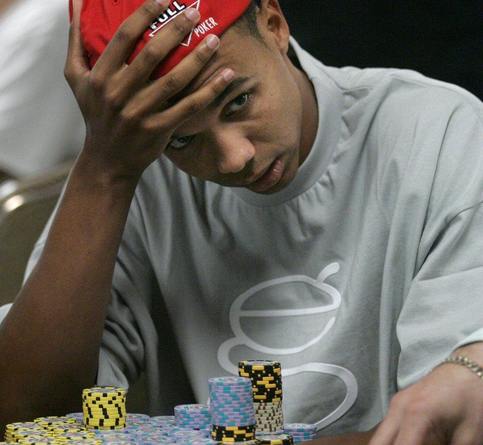 Phil Ivey playing poker