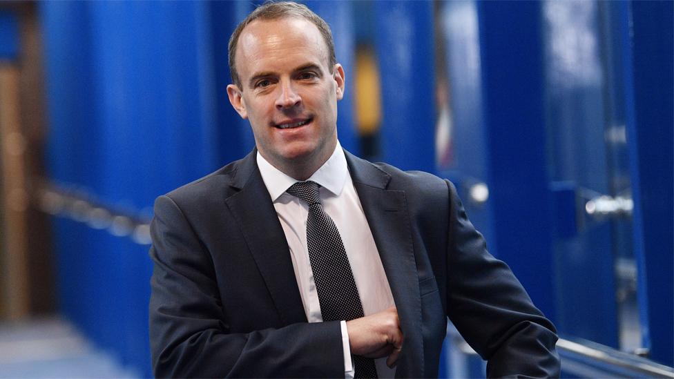 File image of Dominic Raab