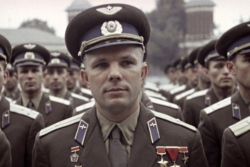 蘇聯第一個太空飛行的宇航員加加林