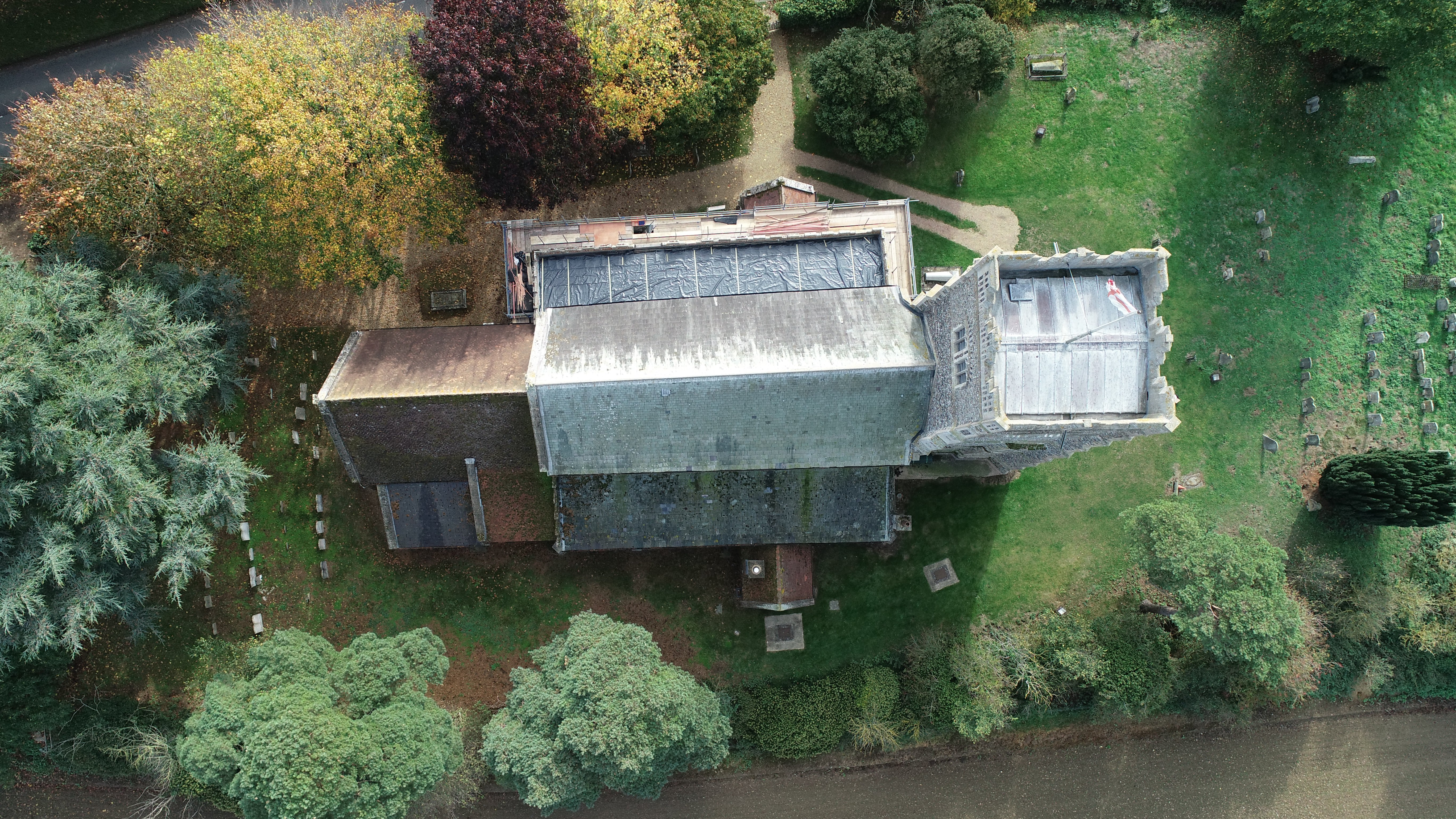 Roof replaced after Elmswell's St John's church lead theft
