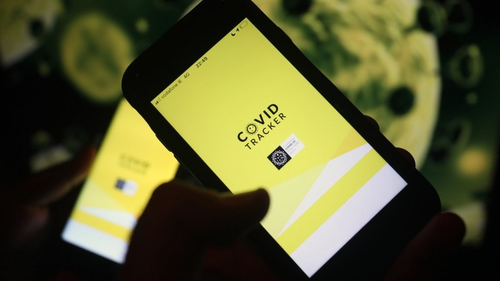 Contact Tracing App Working In Ireland Bbc News