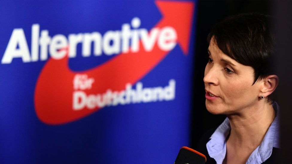 Frauke Petry on March 13, 2016