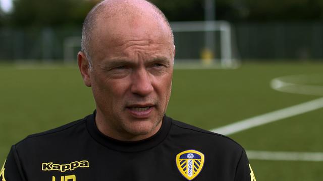 Leeds United boss Uwe Rosler