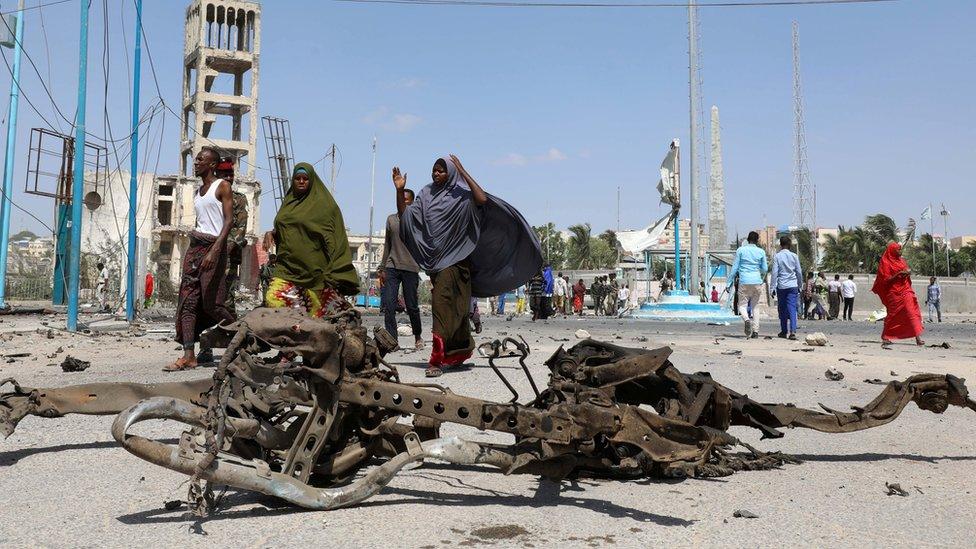 Saldırıda kullanılan araçtan geriye kalanlar